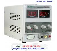 BAKU BK305D блок питания регулируемый, 1 канал: 0-30В, 0-5А