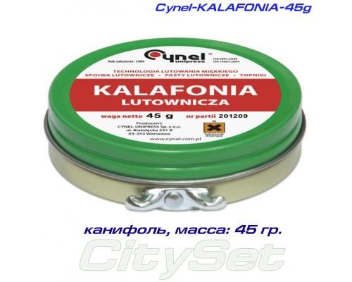 Cynel-KALAFONIA-45g– канифоль, масса 45 гр.