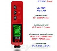 ET330 black-red толщиномер краски, Fe/NFe, до 1500 мкм