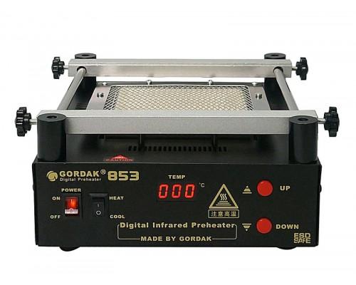 GORDAK 853 преднагреватель плат,  от100°С до500°C, мощность: 605 Вт