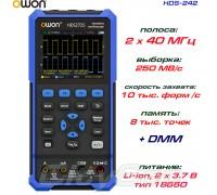 HDS242 портативный осциллограф 2 х 40МГц, +DMM