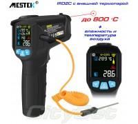 IR02C пирометр Mestek, до 800 °С + температура и влажность воздуха+термопара