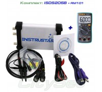 Набор: осциллограф ISDS205B (c генератором), мультиметр RM101