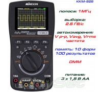 KKM828 мультиметр - осциллограф