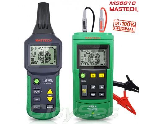 MS6818 Mastech, кабельный тестер, трассоискатель