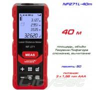 Noyafa NF271-40 лазерная рулетка до 40 метров