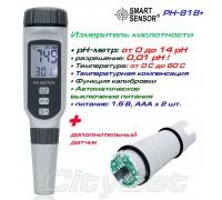 PH818+, pH-метр, измеритель кислотности + дополнительный датчик
