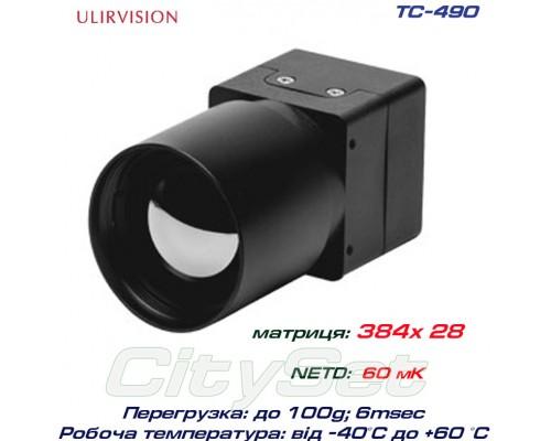 TC490 тепловизионный модуль ULIRvision  IR-core, 384x288