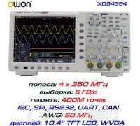 XDS4354 осциллограф 4 х 350 МГц, память: 400М, выборка: 5 ГВ/с