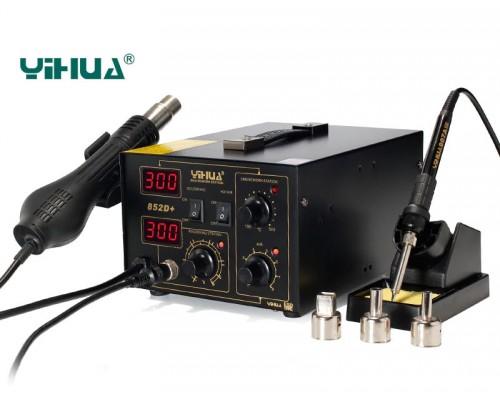 YIHUA-852D+ ремонтная станция с турбированным термофеном