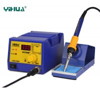 YIHUA 937BD+ паяльная станция, антистатик, с дисплеем,  от200°С до480°C, мощность: 75 Вт