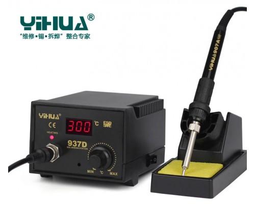 YIHUA 937D паяльная станция, антистатик,  от200°С до480°C, мощность: 50 Вт