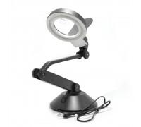 YIHUA-728 лампа-лупа с LED-подсветкой