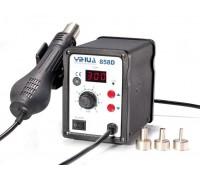 YIHUA-858D термовоздушная паяльная станция с дисплеем1,  от100°С до480°C