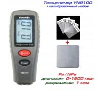 YNB-100 толщиномер краски + набор калибровки,, Fe/NFe, до 1800 мкм