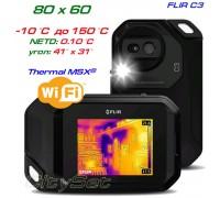 FLIR C3 тепловизор для энергоаудита, до 150 °С