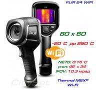 FLIR E4  WiFi тепловизор для энергоаудита, до 250 °С