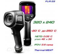 FLIR E8 тепловизор для энергоаудита, до 250 °С