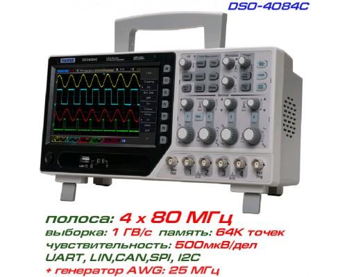 DSO4084C осциллограф 4 х 80 МГц
