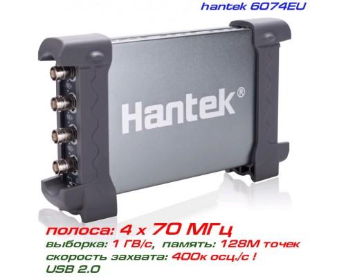 Hantek 6074EU USB-осциллограф 4 х 70МГц