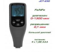 JCT230 толщиномер краски, Fe/NFe, до 1300 мкм