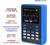 FNIRSI-1C15 портативный осциллограф 1 х 110МГц
