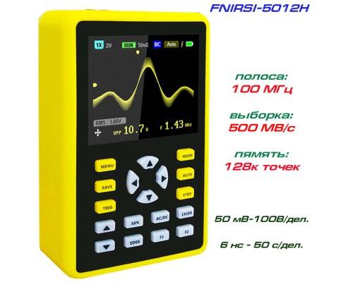 FNIRSI-5012H портативный осциллограф 1 х 100МГц