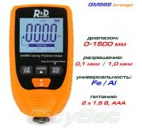 GM998 orange толщиномер краски, Fe/NFe, до 1500 мкм