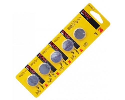 Kodak CR2032, батарейка 3В