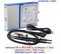 OSC482 - C520 USB-осциллограф 2 х 20МГц