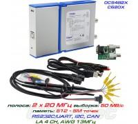 OSC482X - C520X USB-осциллограф 2 х 20МГц