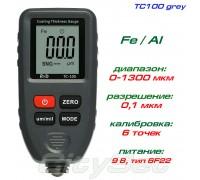 TC100-grey толщиномер краски, Fe/NFe, до 1300 мкм