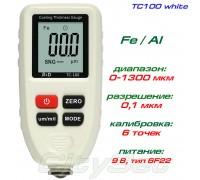 TC100-white толщиномер краски, Fe/NFe, до 1300 мкм