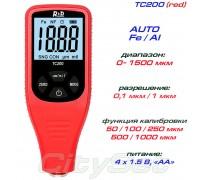 TC200-red толщиномер краски, Fe/NFe, до 1500 мкм