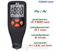 TC200-black толщиномер краски, Fe/NFe, до 1500 мкм