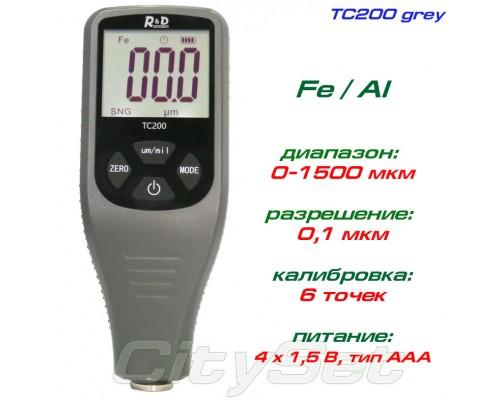 TC200-grey толщиномер краски, Fe/NFe, до 1500 мкм