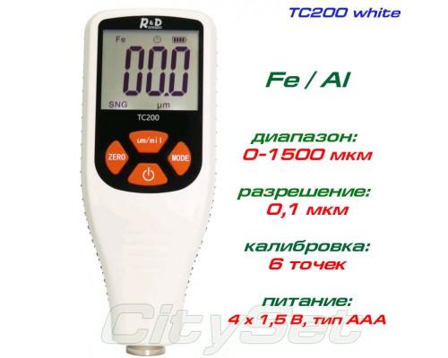 TC200-white толщиномер краски, Fe/NFe, до 1500 мкм
