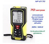 Noyafa NF-2170 лазерная рулетка до 70 метров