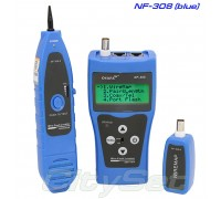 Noyafa NF308 (blue) многофункциональный кабельный тестер, трассоискатель