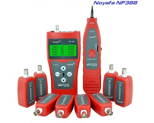 Noyafa NF388 многофункциональный кабельный тестер, трассоискатель