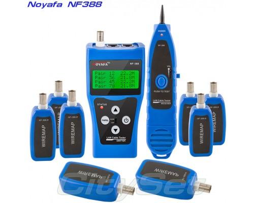 Noyafa NF388 (blue) многофункциональный кабельный тестер, трассоискатель