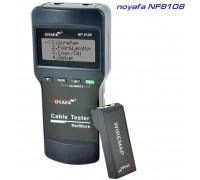 Noyafa NF8108 многофункциональный кабельный тестер, трассоискатель