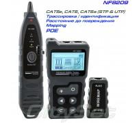 Noyafa NF-8209 кабельный тестер, PoE тестер