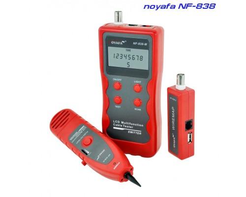 Noyafa NF838  кабельный тестер, трассоискатель, искатеть скрытой проводки