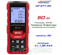 Noyafa NF-271-50 лазерная рулетка до 50 метров