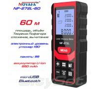 Noyafa NF-272L-60 лазерная рулетка до 60 метров