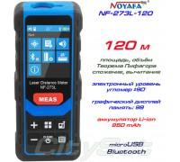 Noyafa NF-273L-120 лазерная рулетка до 120 метров