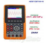 HDS1021M-N портативный осциллограф OWON, полоса: 1 х 20 МГц