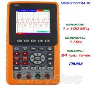 HDS3101M-N портативный осциллограф OWON, полоса: 1 х 100 МГц