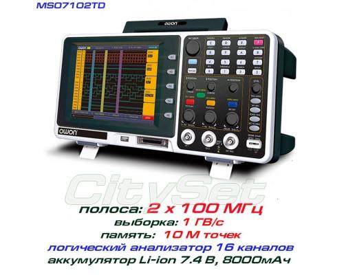 MSO7102TD осциллограф 2 х 100 МГц